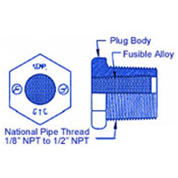 fusible plug diagram