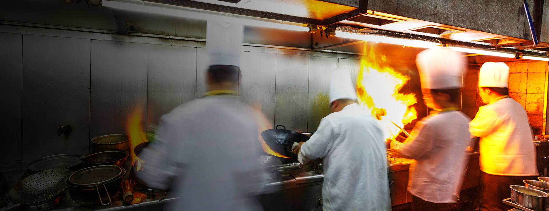 commercial cooking fire suppression